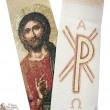 Étole prêtre brodée de la Vierge de l' assomption
