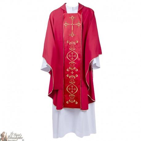 Kasel Fur Priester Mit Gestickter Stola