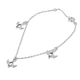 Bracelet doves - silver 925
