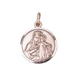 Scapular Medal - Silver 925
