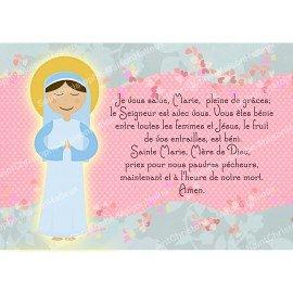 Biglietto magnetico da preghiera - formato postale