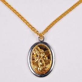 Médaille de Saint Michel Archange avec chaîne