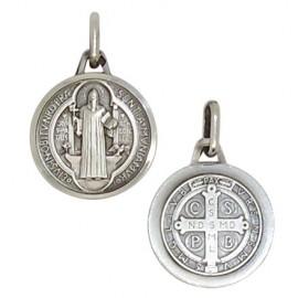 Saint Benedict Medal Silver 925