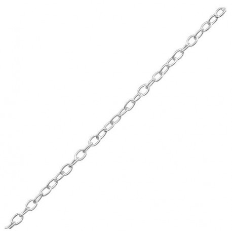 Chaîne réglable - argent 925 - 42 cm