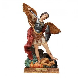 Statue Saint Michel - 30cm