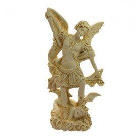 Statue Saint Michel poudre de Marbre