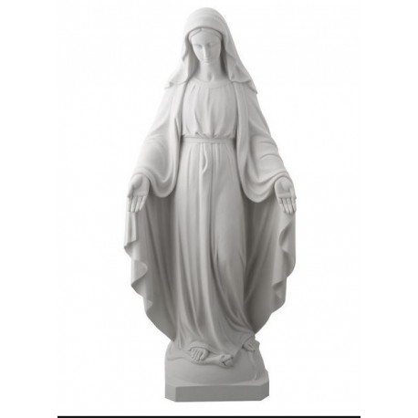 Miracolosa Vergine Alabastro - Statua