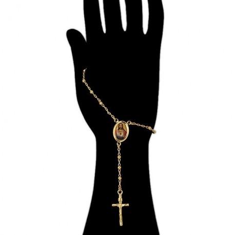 Bracelet dizainier sacré cœur de Marie