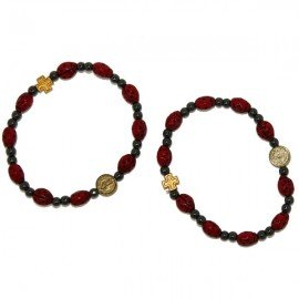 Bracelet ten ladybugs - lucky charm