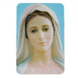 Magnétique frigo Vierge Marie - Visage
