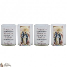Wonderbaarlijke Virgin Night Light Candles - 4 stuks