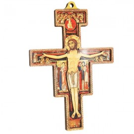 Saint Damien Cross - 18 cm