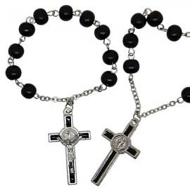 Decenas de rosarios de San Benito