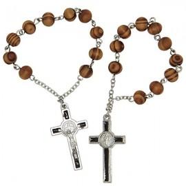 Zehn Rosenkranz des Heiligen Benediktus