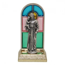 Saint Anthony statue stained glass - 6,7 cm