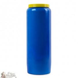 Blue Novena Candle