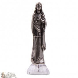 Statue Sainte Philomène statue aimant autocollant