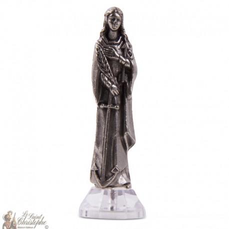 Sainte Philomène statue aimant autocollant