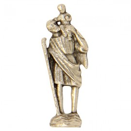Miniature statue of Saint Christopher