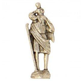 Miniature statue of Saint Christopher