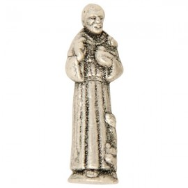 Miniature statue of St. Francis of Assisi - 2,5 cm