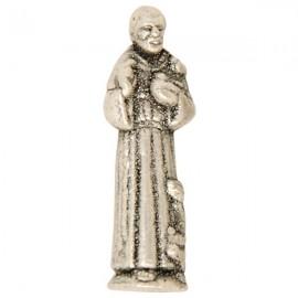 Statue miniature Saint François d'Assise