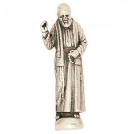 Miniature statue Padre Pio - 2,5 cm