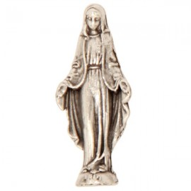 Miniature statue of the Miraculous Virgin Mary