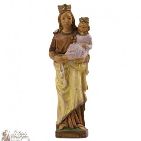 Notre Dame du Mont Carmel - statue