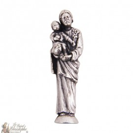 Miniature statue of Saint Joseph - 2,5 cm