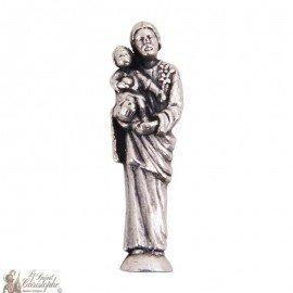 Miniature statue of Saint Joseph