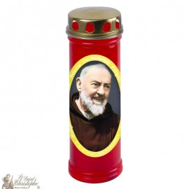 Bougie cimetière Padre Pio