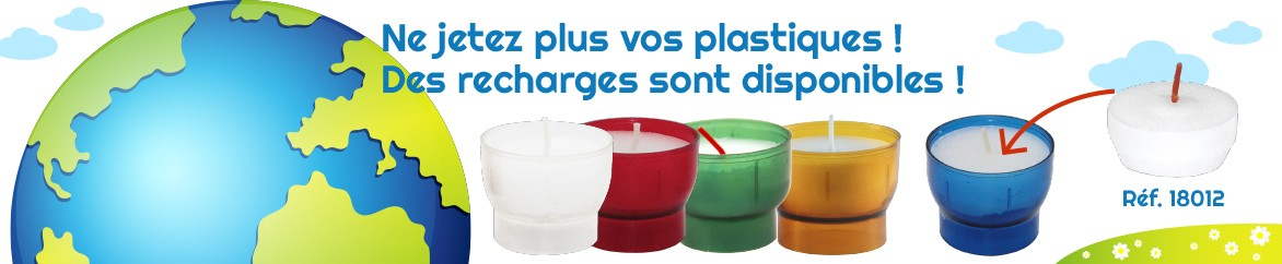 Recharges veilleuses